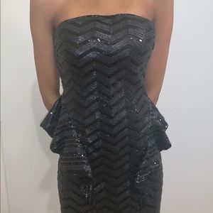 bebe Dresses - Beautiful Black Sequin Dress 🖤
